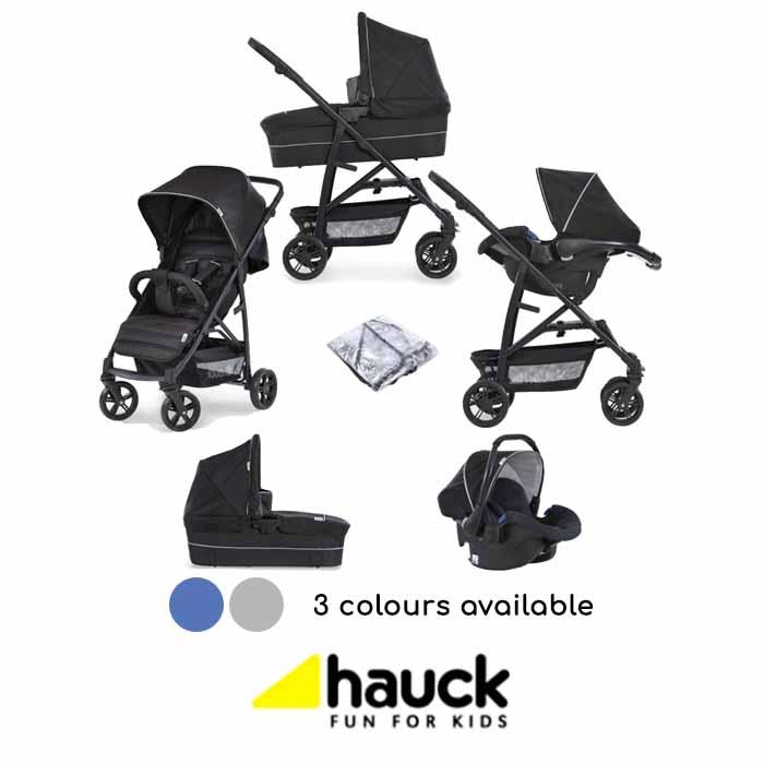 Hauck Rapid 4 Plus Trio Set Travel System