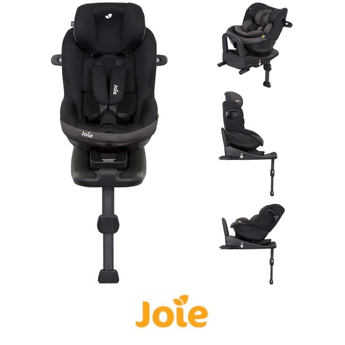 Joie iVenture Group 01 Car Seat And iBase Advance ISOFIX Base Ember