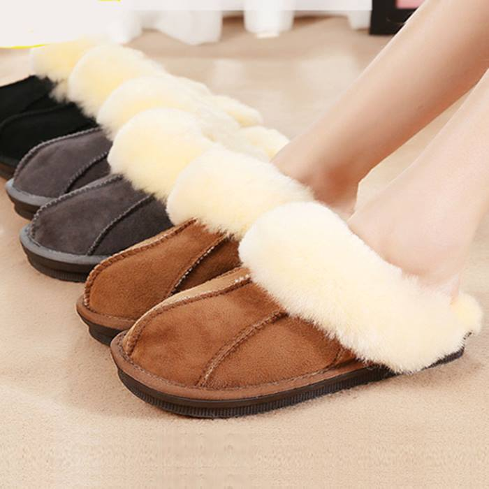 Luxury Sheepskin Slippers - 3 Colours & 5 Sizes