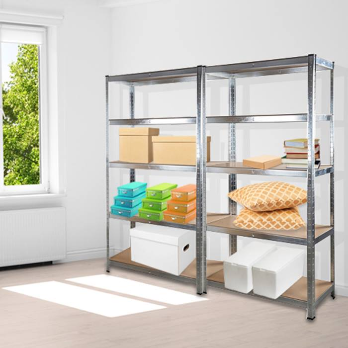 5-Tier Heavy Duty Metal Shelving Unit - 1 or 2