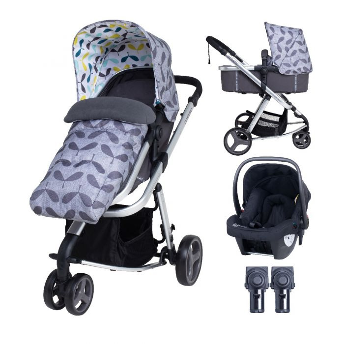 Cosatto Giggle Mix Pushchair and Hold Car Seat Seedling