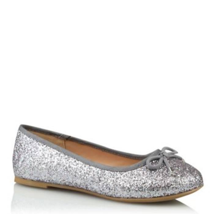 ASDA-Silver-Glitter-Pumps