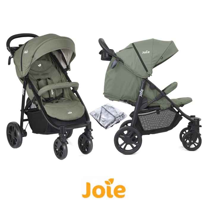 Joie Litetrax 4 Wheel Pushchair Stroller