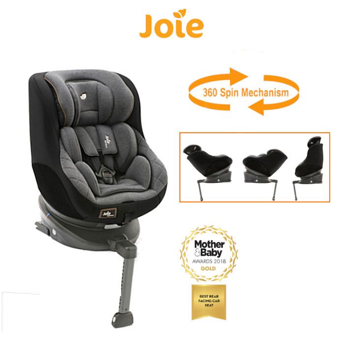 Joie Spin 360 Group 01 Isofix Car Seat  Signature Noir