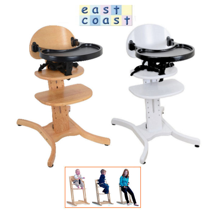 East Coast Curved Highchair
