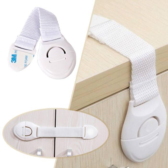 5 x Child Safety Locking Straps
