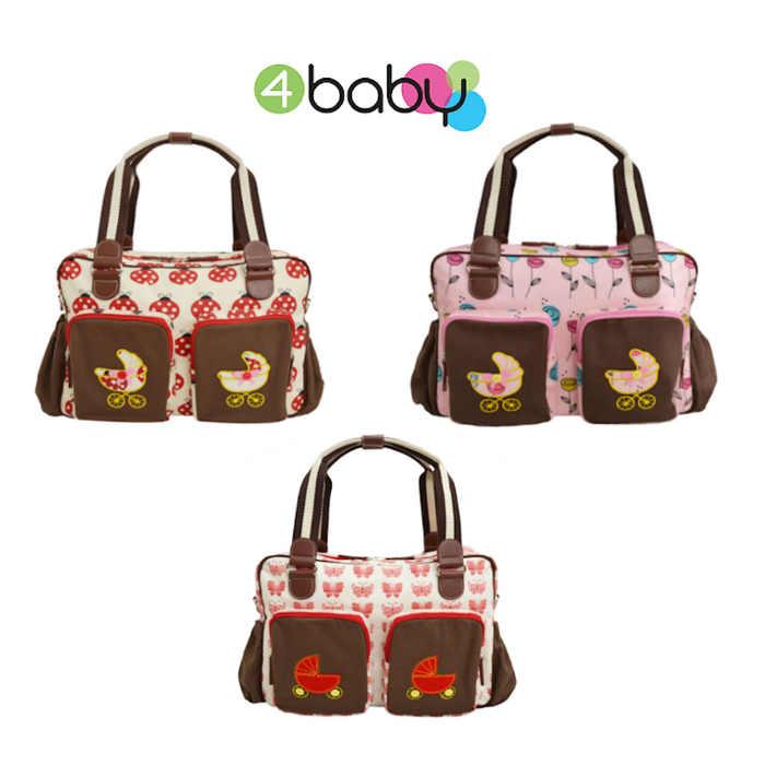 4baby Designer Fashion Changing Bag With Mat  circle