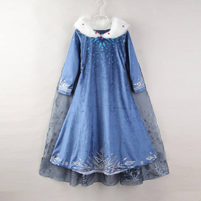Ice Princess Dress and Cape
