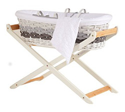 Ombre moses basket