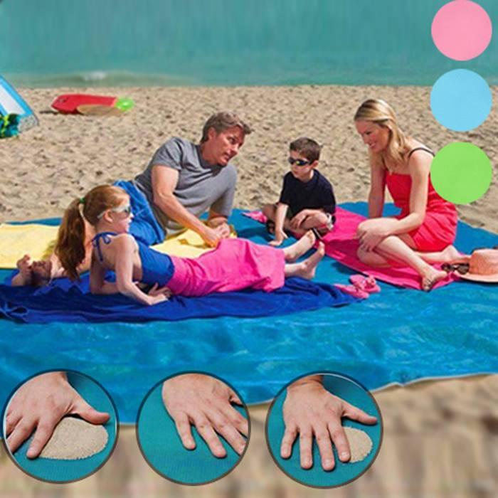 L or XL Magic Anti-Sand Beach Mat - 3 Colours