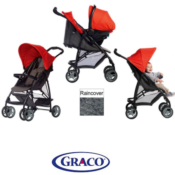 Graco Literider Travel System With Rain Cover