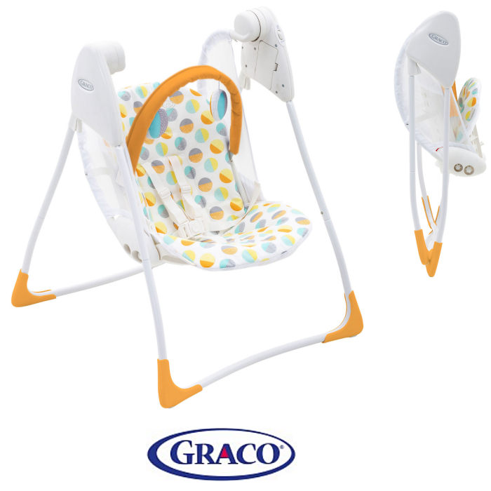 Graco Baby Delight Swing 80s Circles
