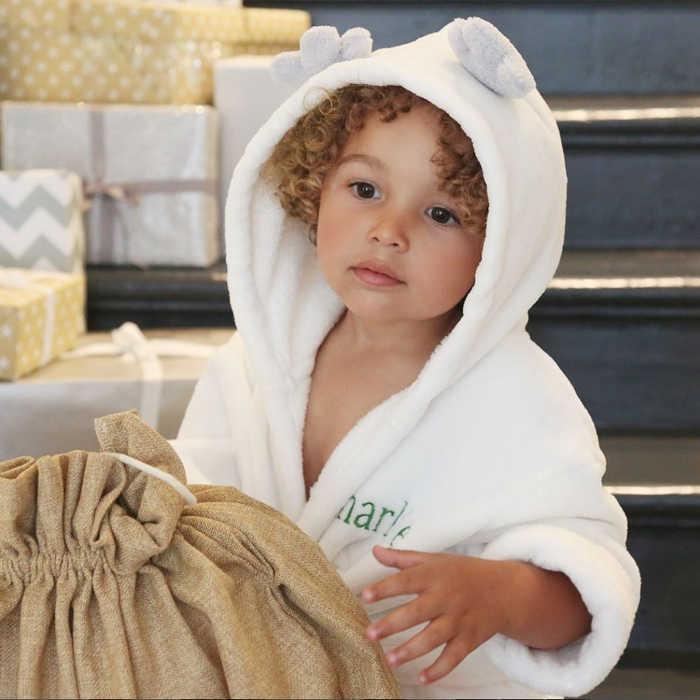 Hooded Raindeer Robe