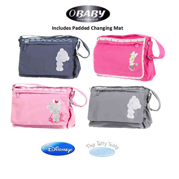 Obaby Changing Bag Tiny Tatty Teddy Minni Mouse