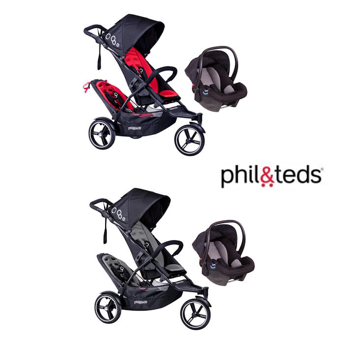 Phil  Teds DOT Tandem Travel System