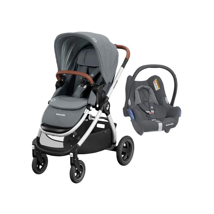 Maxi Cosi Adorra Travel System - Essential Grey
