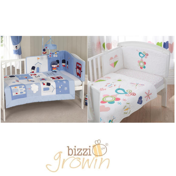 Bizzi Growin 4 Pc Bedding Set
