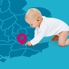 Popular baby names in your area