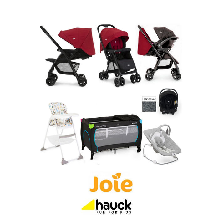 Joie Mirus Scenic Everything You Need Juva Travel System Bundle