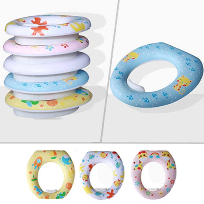 Padded Potty Training Toilet Seat - 4 Colours