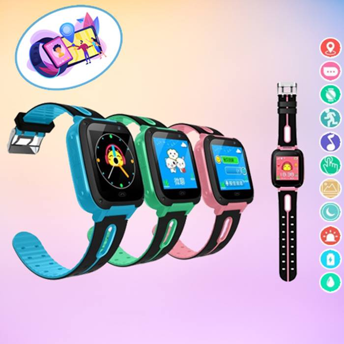 Kids Smartwatch With GPS Tracker - 3 Colours