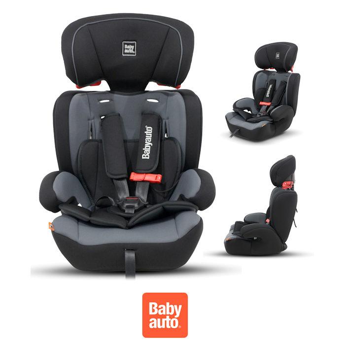 Babyauto Konar Trio Every Stage Group 123 Car Seat - Black / Grey