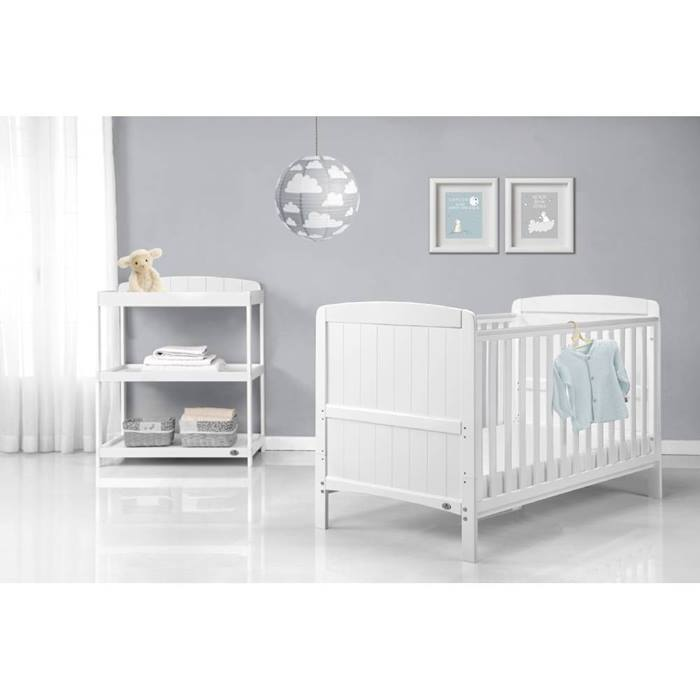 Babylo Sienna Cot Bed & Changer