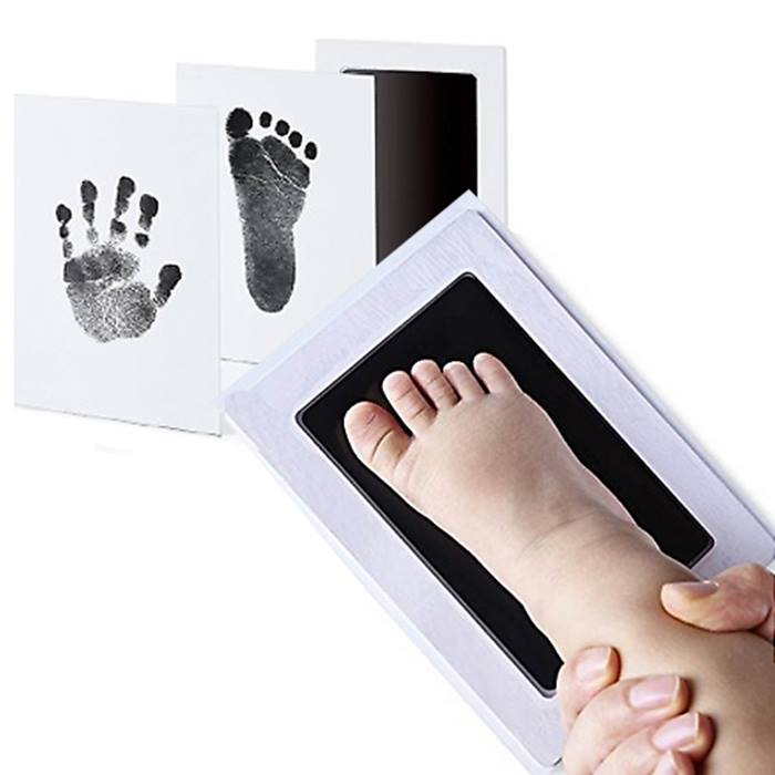 Inkless Baby Footprint & Handprint Keepsake Print