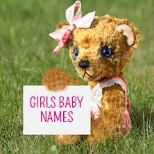 Girls baby names