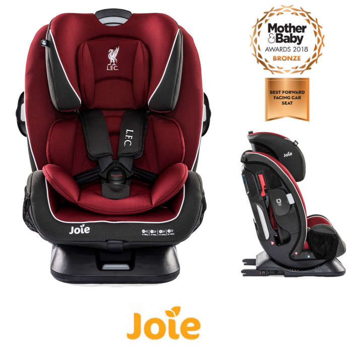 Joie Every Stage FX Liverpool Football Club (LFC) Isofix Group 0+,1,2,3 Car Seat - Red Liverbird