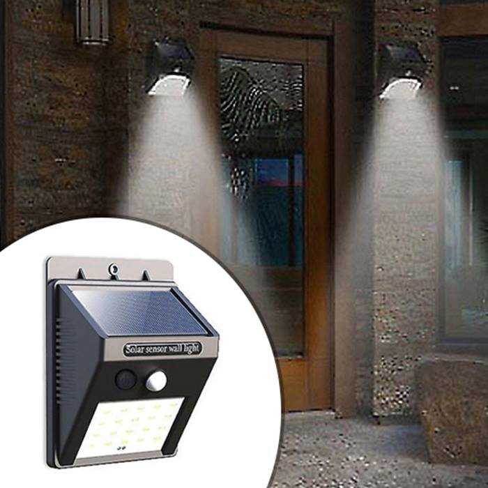 Outdoor Garden Security Lights - 1-4 Lights