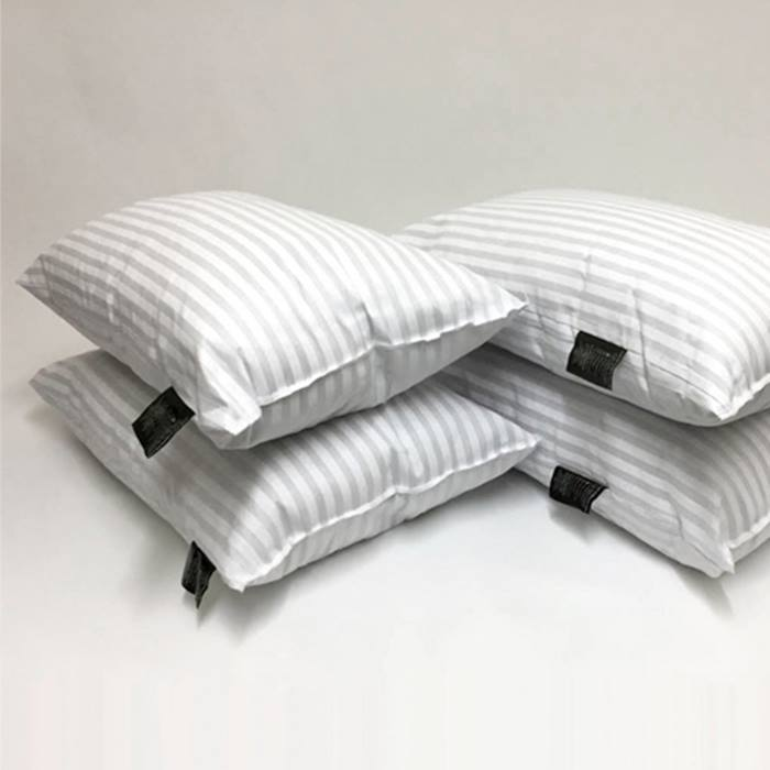 Hotel-Quality Stripe Pillows - 2, 4, 6 or 8