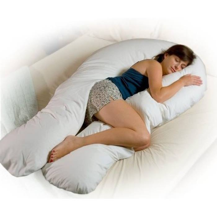 Cuddles Collection 12ft Body & Baby Support Pillow