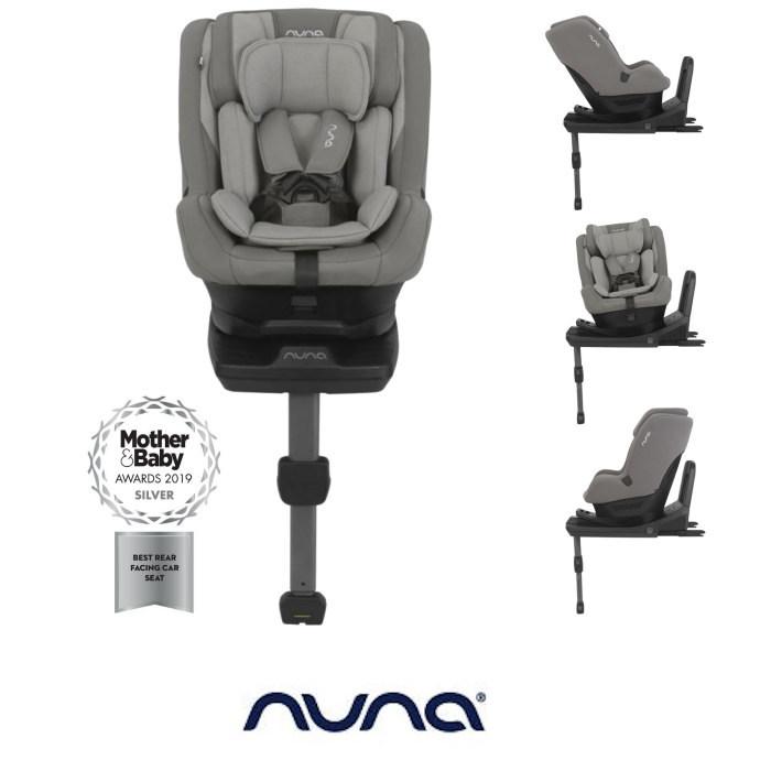 Nuna Rebl Plus Designer Group 0+/1 i-Size Isofix 360° Rotation Car Seat - Frost