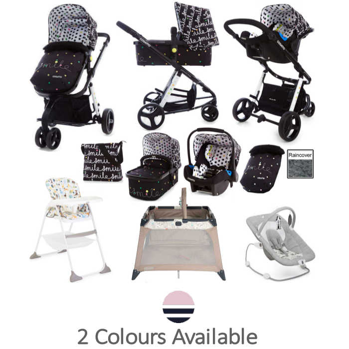 Joie Cosatto Giggle 2 All You Need Travel System Bundle