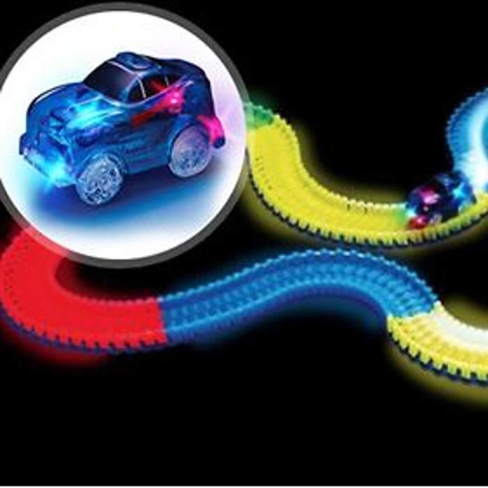 Go Groopie Glow In The Dark Race Track
