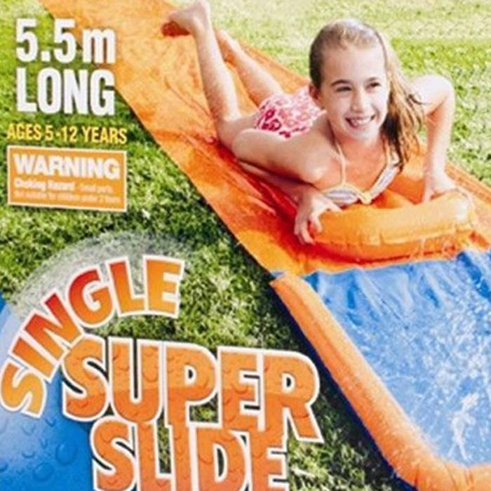 18ft 2-in-1 Aqua Slide with Inflatable Boogie Board