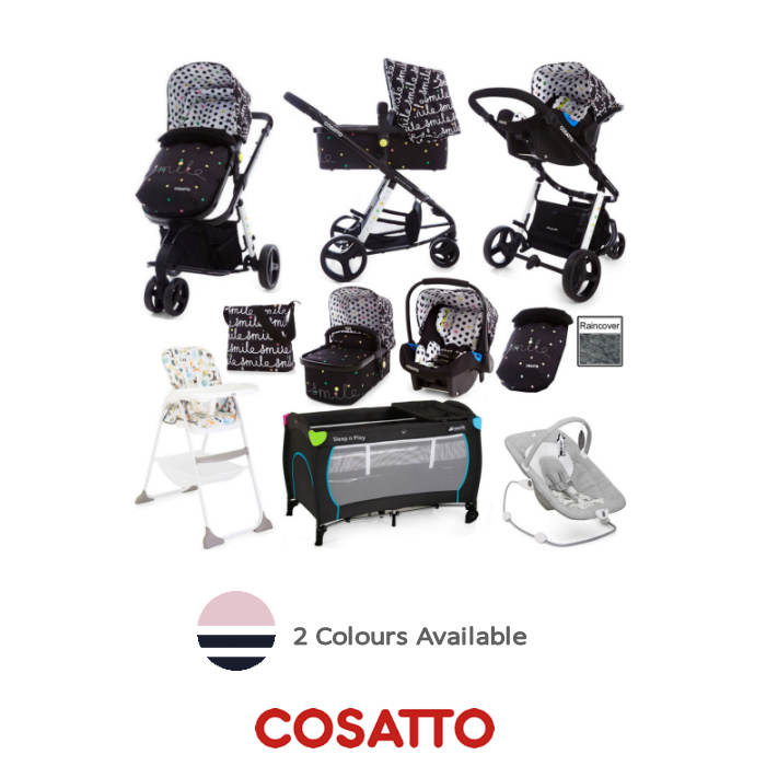 Joie  Cosatto Giggle 2 Everything You Need Travel System Bundle