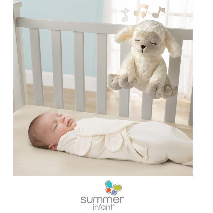 Summer Infant Slumber Melodies Toy Comforter