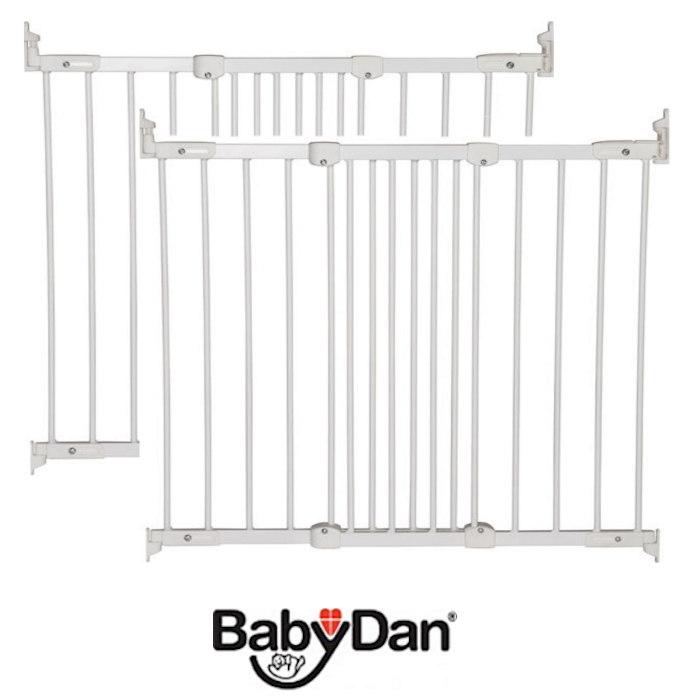 Babydan Super Flexi Fit Extending Safety Gate (Pack of 2)