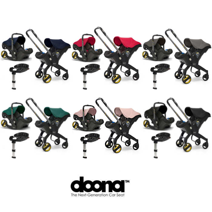 Doona Infant Car Seat / Stroller With Isofix Base