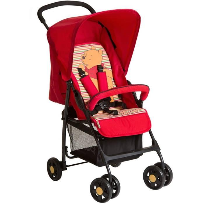 Hauck Winnie the Pooh Disney Sport Stroller (Pooh Spring Brights Red)