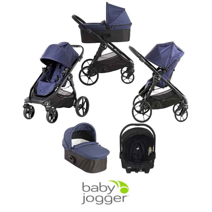 Baby Jogger City Premier (Juva) Travel System with Carrycot