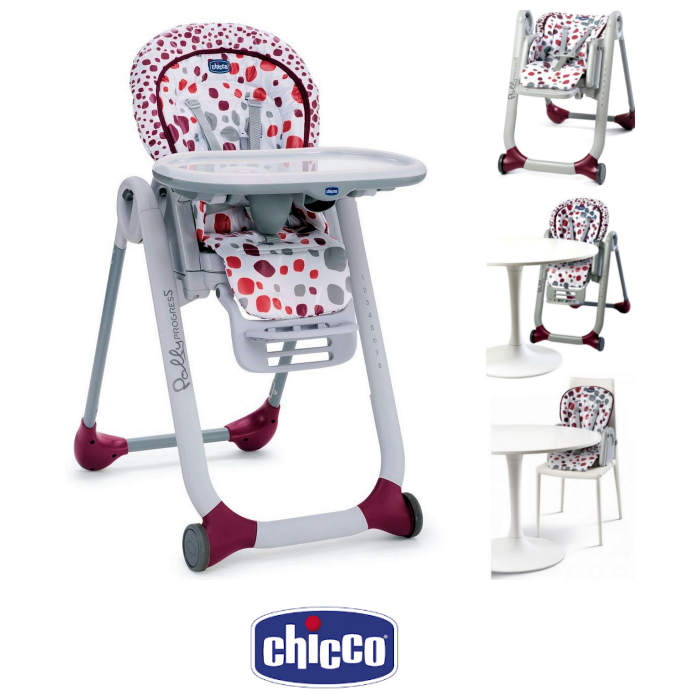 Chicco Polly Progres5 5 in 1  Adjustable Highchair