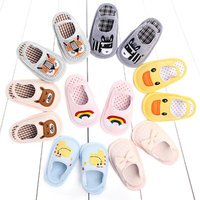 Baby Anti-Slip Indoor Shoes - 7 Designs & 3 Sizes