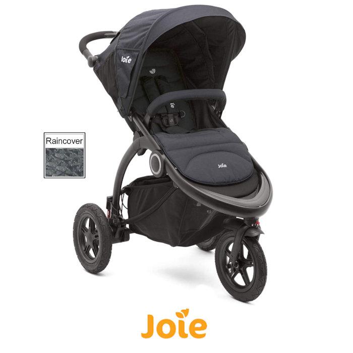 Joie Crosster 3 Wheeler Pushchair Stroller - Asphalt