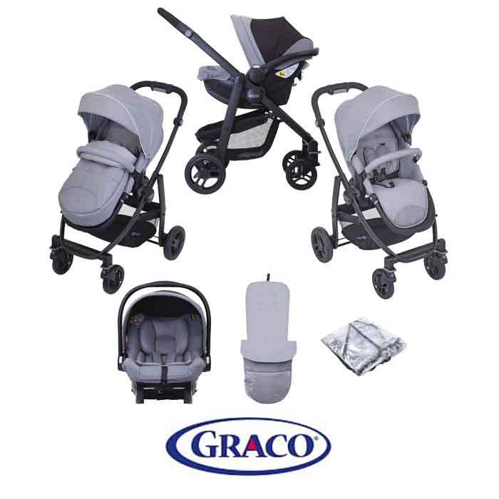 Graco Evo (SnugEssentials Car Seat) Travel System