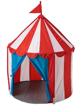 Ikea play tent 250