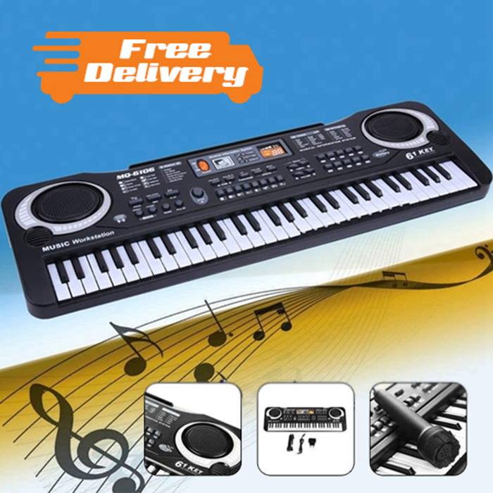 Kids Electric Piano with Microphone