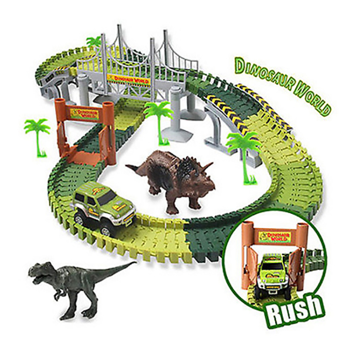 Build-a-Track Jurassic World Play Set